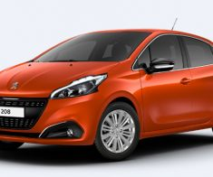 Peugeot 208 Orange POWER