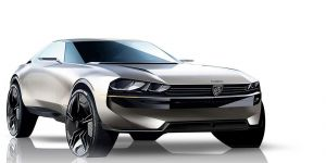 Concept car e-Legend by Peugeot